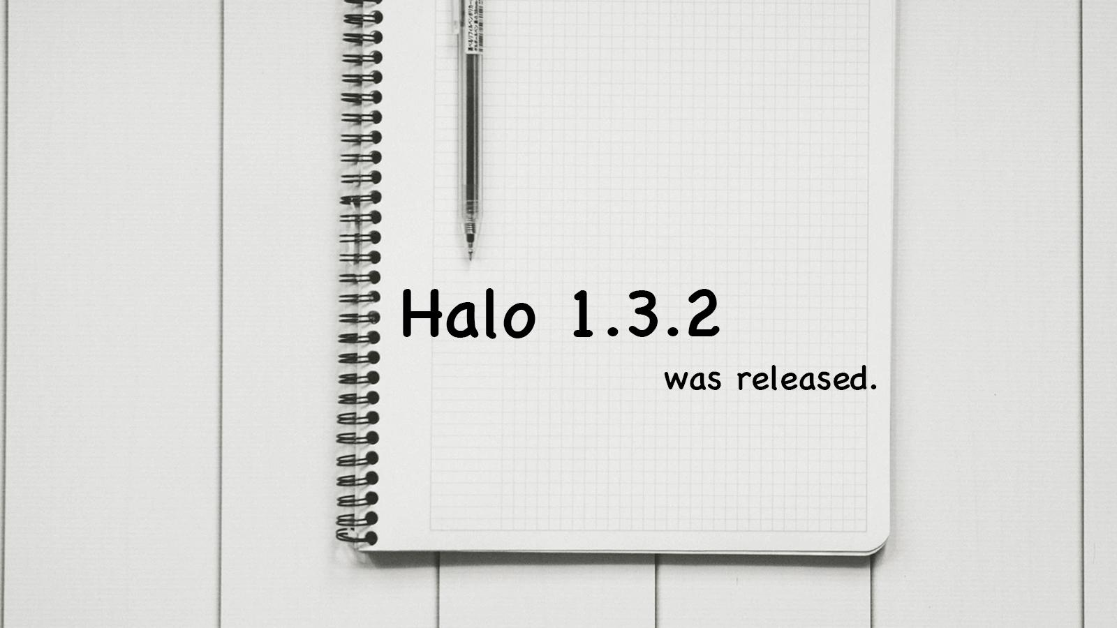 Halo 1.3.2 发布