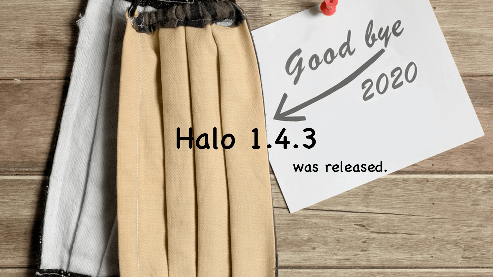 Halo 1.4.3 发布